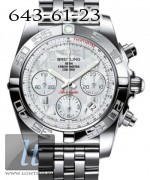 Breitling Chronomat 41 Steel Pearl dial steel bracelet AB014012/A746/378A