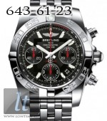 Breitling Chronomat 41 Steel Onyx black dial Limited ab014112/bb47-ss