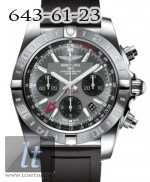 Breitling Chronomat 44 GMT Steel Blackeye Gray Dial Diver Pro AB041012/F556/201S/A20D.2