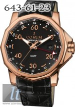 Corum Admiral's Cup GMT 44 Red Gold Black Dial 383.330.55/0081 AN12