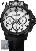 Corum Admiral's Cup Black Challenge 44 753.691.98/F371 AA12