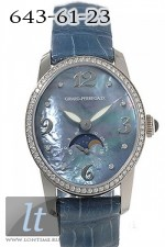 Girard Perregaux CAT'S EYE moon phases (WG / Blue MOP / Leather)