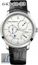 GIRARD-PERREGAUX 1966 ANNUAL CALENDAR AND EQUATION OF TIME 49538-53-133-BK6A