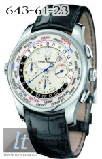 Girard Perregaux WWTC Financial Timer BOMBAY Limited 49805-11-151ABA6A