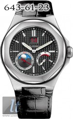 Girard Perregaux LAUREATO Large date, moon phases, power reserve 80185-11-631-BB6A