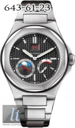 Girard Perregaux LAUREATO Large date, moon phases, power reserve 80185-11-631-11A