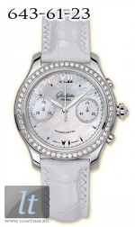 Glashutte Original Lady Serenade Chronograph (SS_Diamonds MOP Leather) 39-34-12-12-04