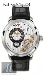Glashutte Original Panoinverse XL (WG / Leather) 66-01-04-04-05