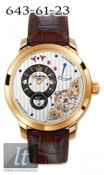 Glashutte Original Panoinverse XL (RG / Leather) 66-01-01-01-05