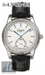 Glashutte Original 1878 Limited Edition (WG / Silver / Leather) 100-11-01-01-04