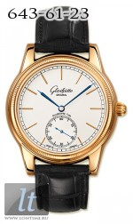 Glashutte Original 1878 Limited Edition (RG / Silver / Leather) 100-11-01-04-04