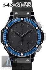 Hublot All Black Blue Carat 301.CD.134.RX.191