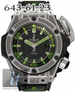 Hublot King Power Diver 4000m Titanium Limited Edition 500 new model-2011 Diver 4000m Titanium