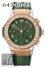 Hublot Dark Green Diamonds 341.PV.5290.LR.1104