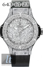 Hublot Steel Full Pave