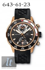 IWC Aquatimer Chronograph in red gold iw3769-03