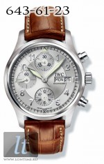 IWC Spitfire Chronograph (Silver) IW3706-23