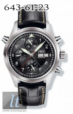 IWC Spitfire Double Chronograph (Black) IW3713-33
