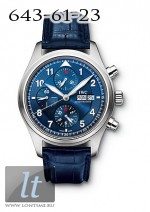 IWC Pilot`s Chrono-Automatic Edition Laureus Sport for Good Foundation (Steel) IW3717-12