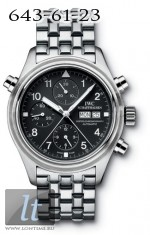IWC Pilot's Double Chronograph (Steel) IW3713-19