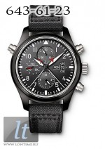 IWC Pilots Double Chronograph Edition Top Gun (Ceramic) IW3799-01