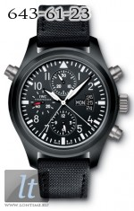 IWC Pilot's Double Chronograph Limited (Ceramic) IW3786-01