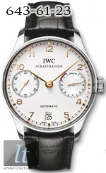 IWC 2010 Portuguese Automatic 7 Days Power Reserve IW500114