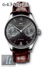 IWC Portuguese Automatic (WG / Black / Leather) IW5001-06