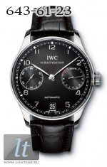 IWC Portuguese Automatic (SS / Black / Leather) IW5001-09