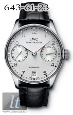 IWC Portuguese Automatic (Pt / White / Leather) IW5001-04