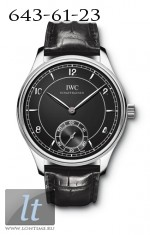 IWC Portuguese Vintage 1939 (SS / Black / Leather) IW5445-01
