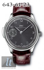 IWC Portuguese Minute Repeater (WG / Black / Leather) IW5242-05