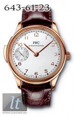 IWC Portuguese Minute Repeater (RG / White / Leather) IW5242-02