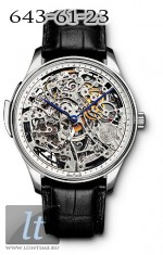 IWC Portuguese Minute Repeater Squelette (PT / Leather) IW5241-04