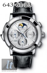 IWC Grande Complication (Platinum / Silver / Leather) IW3770-13