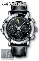 IWC Grande Complication (Platinum / Black / Leather) IW3770-17