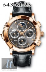 IWC Grande Complication (RG / Black / Leather) IW3770-25