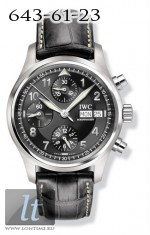 IWC Spitfire Chronograph (Black) IW3706-13