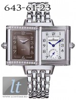 Jaeger LeCoultre  Reverso Duetto Classique (Steel / Grey / Diamonds / Steel) Q2568101