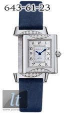 Jaeger LeCoultre  Reverso Duetto Joaillerie (WG / MOP / Diamonds / Satin) Q2663413