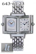 Jaeger LeCoultre  Reverso Duetto (Steel / Silver - MOP / Steel) Q2668120