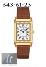 Jaeger LeCoultre  Reverso Duetto Duo (YG-Diamonds / Silver / Leather) Q2691420