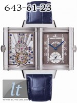 Jaeger LeCoultre  Reverso Number One and Two (Platinum / Gray / Leather) Q2176440