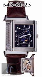 Jaeger LeCoultre  Reverso Sun Moon (WG / Black / Leather) Q2753470