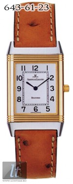 Jaeger LeCoultre  Reverso Classique (YG-SS / Silver / Leather) Q2505420