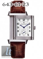 Jaeger LeCoultre  Reverso Grande Taille (Steel / Silver / Leather) Q2708410