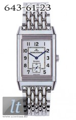 Jaeger LeCoultre  Reverso Grande Taille (Steel / Silver / Steel) Q2708120