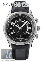 Jaeger LeCoultre  AMVOX1 Alarm (Steel / Black / Leather) Q1908470
