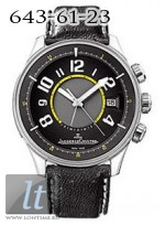 Jaeger LeCoultre  AMVOX1 R-Alarm (Platinum / Black / Leather) Q191P440