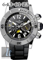 Jaeger LeCoultre  Master Compressor Diving Chronograph Boutique (Titanium / Art Q186T740
